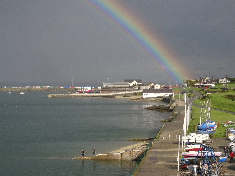 Newry Beach is Holyhead's Pot of Gold
